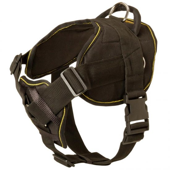 Nylon Dog Harness for Pulling Tracking Training