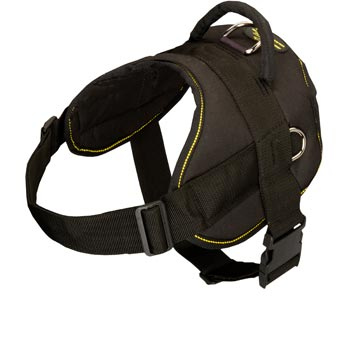 Nylon All Weather Dog Harness for Service Dogs