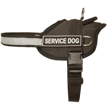 Dog Harness Nylon with Reflective Strap